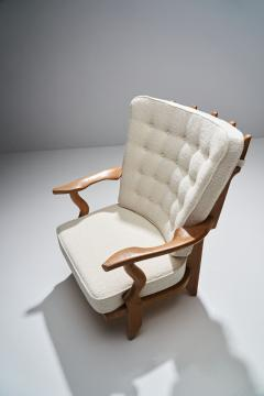 Guillerme et Chambron Guillerme et Chambron Petit Repos Lounge Chair France 1950s - 1218146