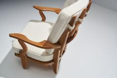 Guillerme et Chambron Guillerme et Chambron Petit Repos Lounge Chair France 1950s - 1218147
