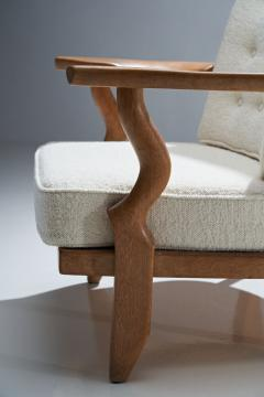 Guillerme et Chambron Guillerme et Chambron Petit Repos Lounge Chair France 1950s - 1218153