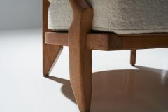 Guillerme et Chambron Guillerme et Chambron Petit Repos Lounge Chair France 1950s - 1218155