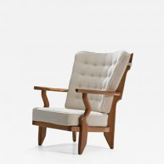 Guillerme et Chambron Guillerme et Chambron Petit Repos Lounge Chair France 1950s - 1218634