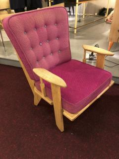 Guillerme et Chambron Guillerme et Chambron pair of rare chairs in good vintage condition - 822970