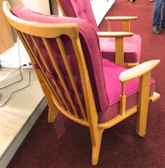 Guillerme et Chambron Guillerme et Chambron pair of rare chairs in good vintage condition - 822971