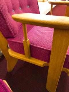 Guillerme et Chambron Guillerme et Chambron pair of rare chairs in good vintage condition - 822972