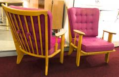 Guillerme et Chambron Guillerme et Chambron pair of rare chairs in good vintage condition - 822973