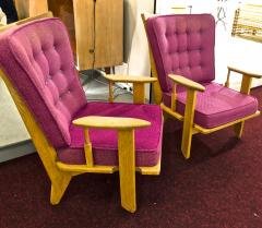 Guillerme et Chambron Guillerme et Chambron pair of rare chairs in good vintage condition - 822974