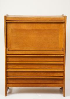 Guillerme et Chambron High chest dos dane secretary by Guillerme Chambron France 1960s - 1056314