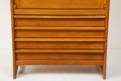 Guillerme et Chambron High chest dos dane secretary by Guillerme Chambron France 1960s - 1056315