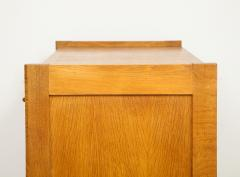 Guillerme et Chambron High chest dos dane secretary by Guillerme Chambron France 1960s - 1056319