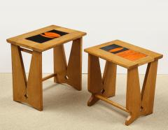 Guillerme et Chambron PAIR OF NESTING TABLES BY GUILLERME - 1614554