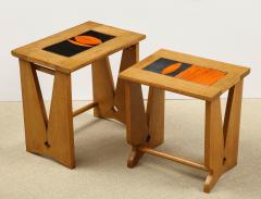 Guillerme et Chambron PAIR OF NESTING TABLES BY GUILLERME - 1614556