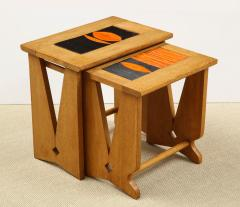 Guillerme et Chambron PAIR OF NESTING TABLES BY GUILLERME - 1614557