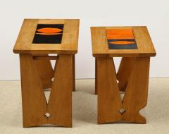 Guillerme et Chambron PAIR OF NESTING TABLES BY GUILLERME - 1614558