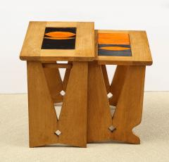 Guillerme et Chambron PAIR OF NESTING TABLES BY GUILLERME - 1614561