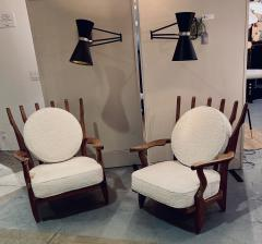 Guillerme et Chambron Pair of Mid Repos Arm Chairs By Guillerme et Chambron - 1199386