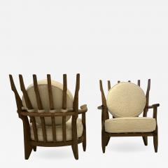Guillerme et Chambron Pair of Mid Repos Arm Chairs By Guillerme et Chambron - 1200886