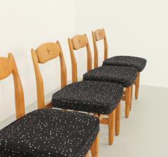Guillerme et Chambron Set of Six Lorraine Dining Chairs by Guillerme et Chambron - 1984490
