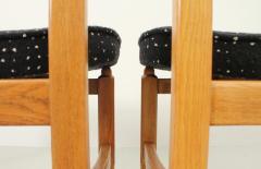 Guillerme et Chambron Set of Six Lorraine Dining Chairs by Guillerme et Chambron - 1984492
