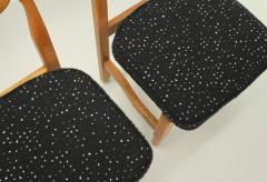 Guillerme et Chambron Set of Six Lorraine Dining Chairs by Guillerme et Chambron - 1984493