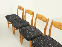 Guillerme et Chambron Set of Six Lorraine Dining Chairs by Guillerme et Chambron - 1984495
