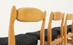 Guillerme et Chambron Set of Six Lorraine Dining Chairs by Guillerme et Chambron - 1984496