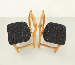 Guillerme et Chambron Set of Six Lorraine Dining Chairs by Guillerme et Chambron - 1984497