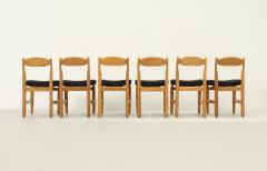 Guillerme et Chambron Set of Six Lorraine Dining Chairs by Guillerme et Chambron - 1984498