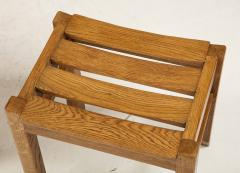 Guillerme et Chambron Set of Three Oak Stools by Guillerme et Chambron - 2065689