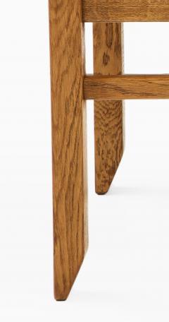 Guillerme et Chambron Set of Three Oak Stools by Guillerme et Chambron - 2066219
