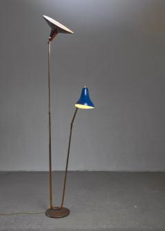 Guiseppe Ostuni Guiseppe Ostuni floor lamp with 2 shades for O Luce Italy - 1168147