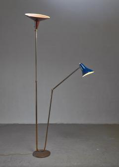 Guiseppe Ostuni Guiseppe Ostuni floor lamp with 2 shades for O Luce Italy - 1168150