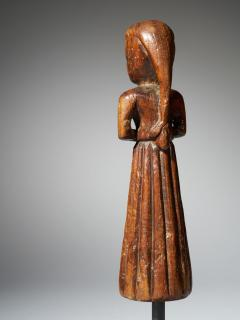 Gujurat Region North India Statue of a woman in a long skirt - 1936614