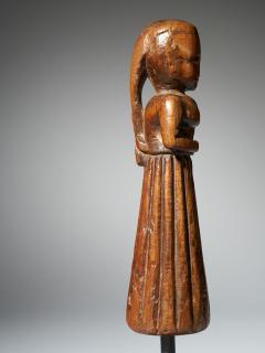 Gujurat Region North India Statue of a woman in a long skirt - 1936617