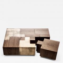 Gulla Jonsdottir Black Walnut Puzzle Table - 1167770