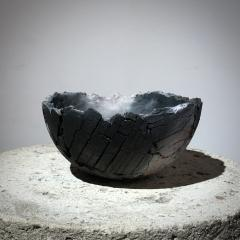 Gundula Sommerer Sagger fired ceramic bowl - 1649649