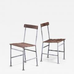 Gunnar Asplund Gunnar Asplund Pair of Garden Chairs - 1704654