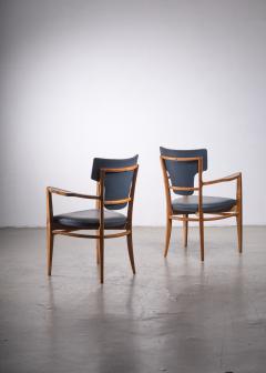 Gunnar Asplund Pair of very rare Gunnar Asplund armchairs - 1935937