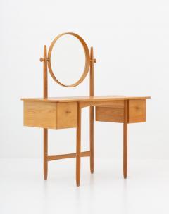 Gunnar Myrstrand Sven Engstr m Swedish Vanity Table in Oak by Sven Engstr m Gunnar Myrstrand - 1620071