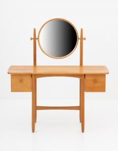 Gunnar Myrstrand Sven Engstr m Swedish Vanity Table in Oak by Sven Engstr m Gunnar Myrstrand - 1620077