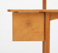 Gunnar Myrstrand Sven Engstr m Swedish Vanity Table in Oak by Sven Engstr m Gunnar Myrstrand - 1620078
