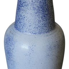 Gunnar Nylund Elegant Tall Table Lamp in Speckled French Blue by Guinnar Nylund - 618043