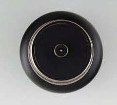 Gunnar Nylund Gunnar Nylund for ALP Lidk ping Art deco ceramic lidded jar with silver inlay - 1304906