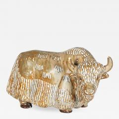 Gunnar Nylund Stoneware Figure of a Water Buffalo Gunnar Nyland for Rorstrand - 689592