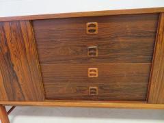 Gunni Omann Danish Modern Rosewood Credenza Sideboard Gunni Omann Style Mid Century - 1697094