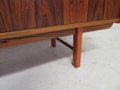 Gunni Omann Danish Modern Rosewood Credenza Sideboard Gunni Omann Style Mid Century - 1697097