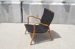 Gustav Axel Berg Birch Bentwood Easy Chair by Gustav Axel Berg - 113091