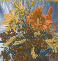 Gustave Baumann From a Hillside Garden - 1808589