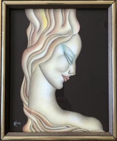 Gustave Kaitz Art Deco Woman - 1230451