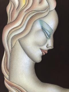 Gustave Kaitz Art Deco Woman - 1230452