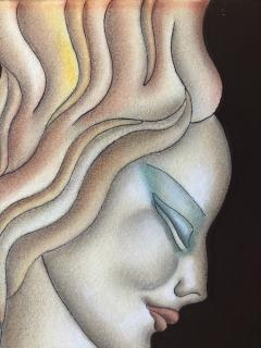 Gustave Kaitz Art Deco Woman - 1230453